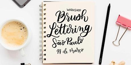 Workshop de Brush Lettering - São Paulo ingressos