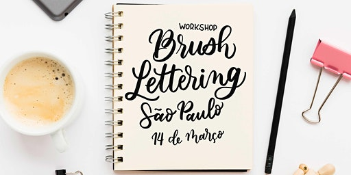 Workshop de Brush Lettering - São Paulo