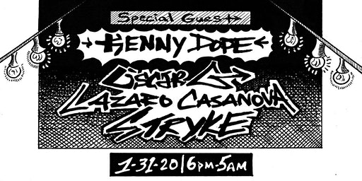 Rice & Beats with Oscar G and Special Guest Kenny Dope