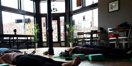 Yoga Lunch at Sauce on the Side! tickets