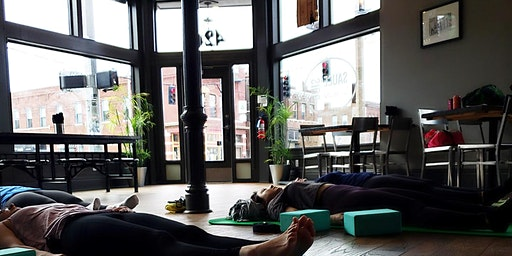 Yoga Lunch at Sauce on the Side!