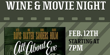 """Wine & Movie Night: """"All About Eve"""" tickets"""