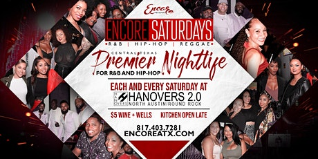 Encore Saturdays 4.25 | R&B, Hip-Hop, Reggae tickets