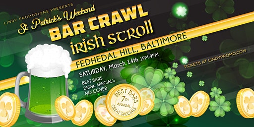 Lindy Promo's Baltimore Fed Hill St. Patrick's Day Irish Stroll