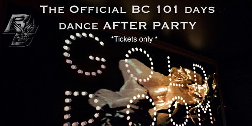 The Official BC 101 days dance After Party