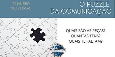 O Puzzle de Comunicação bilhetes