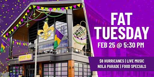 Fat Tuesday at Legacy Hall