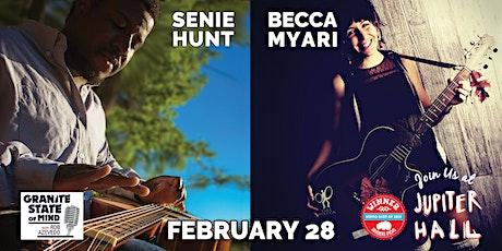 New Blood Live Music: Becca Myari & Senie Hunt tickets