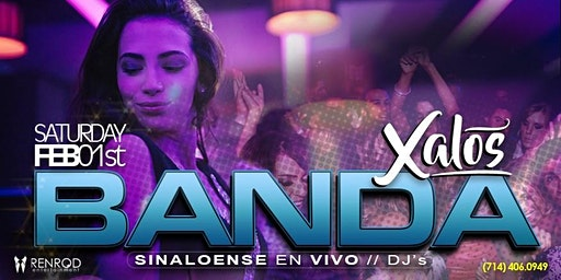 Xalos Saturday Banda y Djs Free Tickets