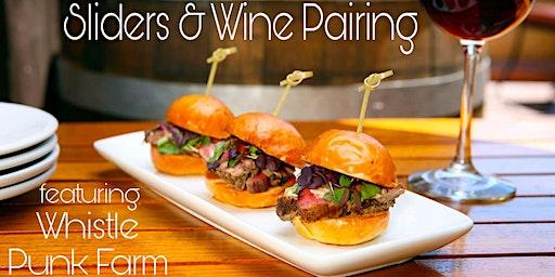 Sliders & Wine Pairing at Red Heifer Winery