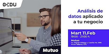 Análisis de datos aplicado a tu negocio boletos