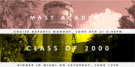 MAST Class of 2000 - 20 Year Reunion Celebration tickets