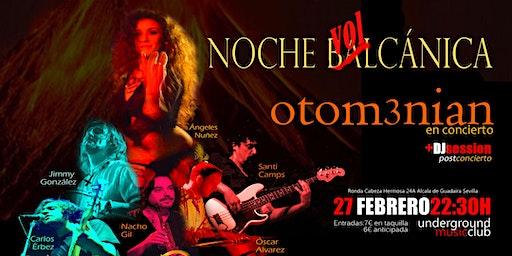 NOCHE VOLCÁNICA.  OTOM3NIAN en concierto