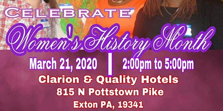 Women's History Month Celebration by Ms. B's Tea Room tickets