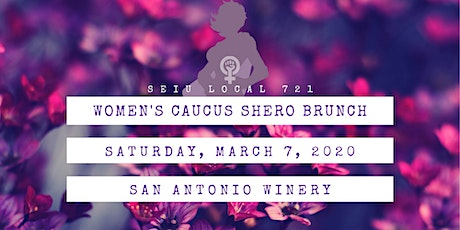 SEIU Local 721 Women's Caucus SHero Brunch tickets