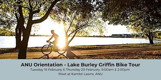 ANU Orientation - Lake Burley Griffin Bike Tour