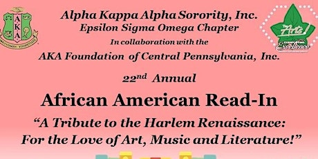 The 22nd Annual African American Read-In sponsored by AKA Epsilon Sigma Omega tickets
