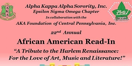 The 22nd Annual African American Read-In sponsored by AKA Epsilon Sigma Omega