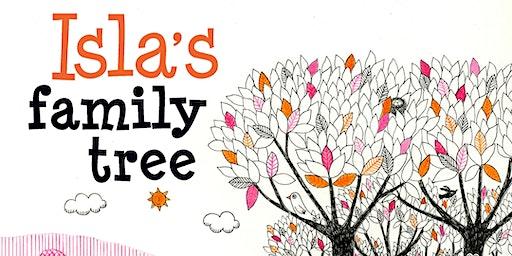 Saturday Family Fun: Isla's Family Tree - Wallsend Library