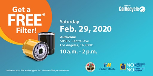 Florence-Firestone FREE Oil Filter Exchange Event