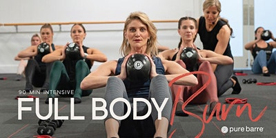 90-Minute Full Body Burn Class
