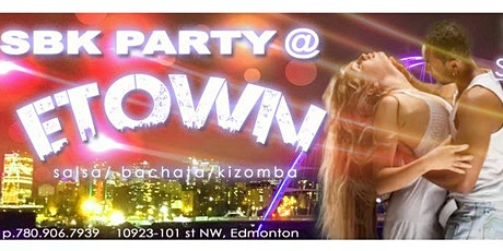 SALSA BACHATA KIZOMBA SBK Social party tickets