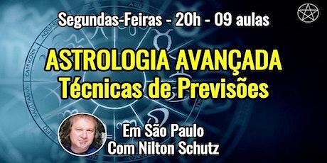 Curso Astrologia Avançada – Técnicas de Previsão – Nilton Schutz ingressos