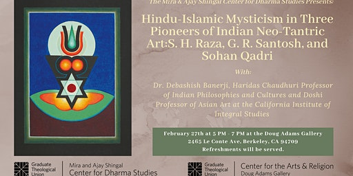 Hindu-Islamic Mysticism in Three Pioneers of Indian Neo-Tantric Art:  S. H. Raza, G. R. Santosh, and Sohan Qadri