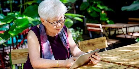 Tech savvy seniors - Technology classes in English language tickets