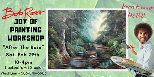 Bob Ross Joy of Painting Workshop - After The Rain