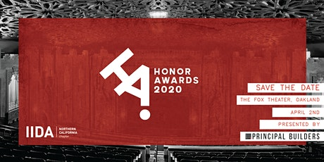 2020 IIDA Northern California Honor Awards  tickets