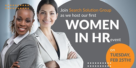 Women in HR Panel - Hosted by: Search Solution Group tickets