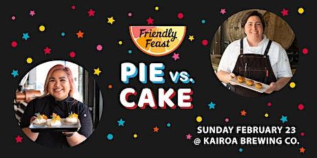 Pie vs. Cake tickets