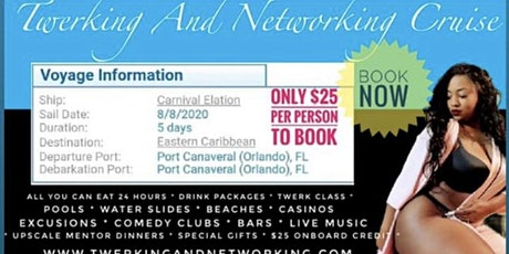 Twerking and Networking Cruise tickets