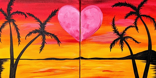 """Valentine's Day Package Deal! - """"Beach Evening"""""""