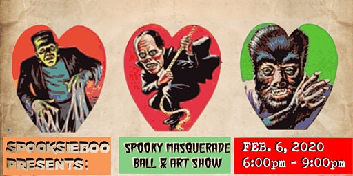 Spooky Masquerade Ball/Art Show