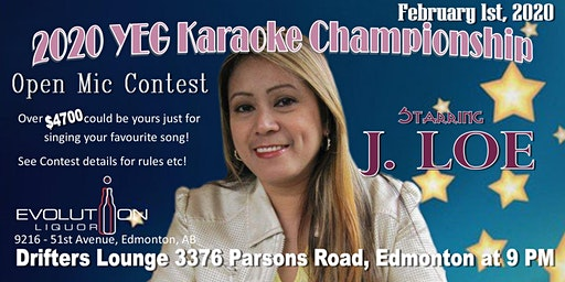 YEG Karaoke Night Hosted By J. Loe