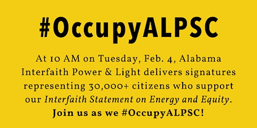 Occupy Alabama Public Service Commission #OccupyALPSC