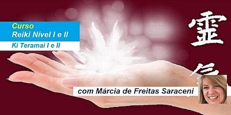 Curso Reiki Nível 1 e 2 – Márcia de Freitas Saraceni ingressos