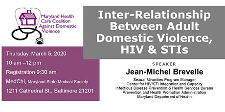 Inter-Relationship Between Adult Domestic Violence, HIV & STIs tickets