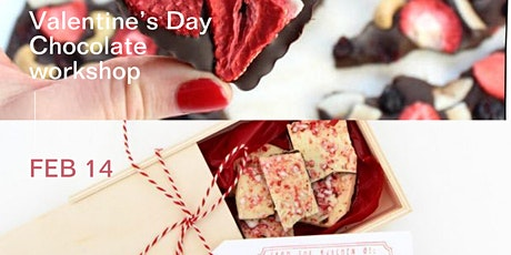 Valentine's Day Sip and make your own chocolate tickets