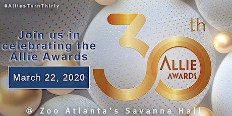 2020 Allie Awards - 30th Anniversary Celebration tickets