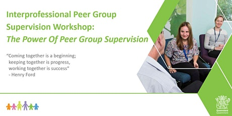 CHQ Interprofessional Peer Group Supervision Workshop tickets
