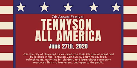(Cancelled) 7th Annual Tennyson All America Festival tickets