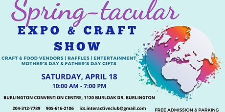 Spring-tacular EXPO & Craft Show tickets