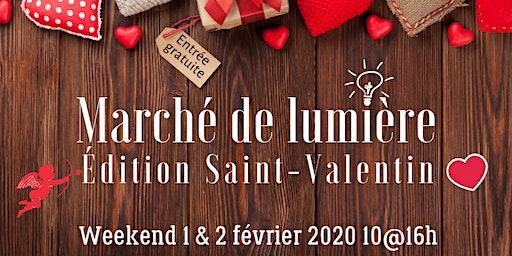 Marché de lumière Édition St-Valentin