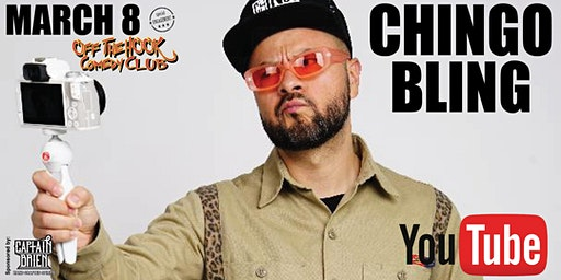 Comedian Chingo Bling live at Off The Hook Comedy Club in Naples, Florida
