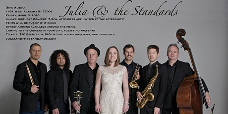 Julia & The Standards Live at 3MA Audio tickets