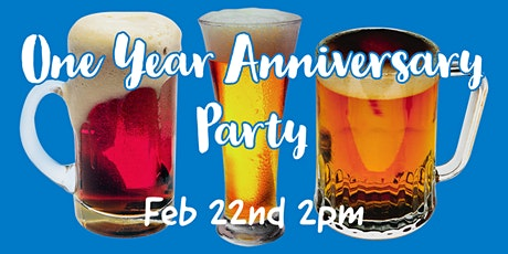 One Year Anniversary Party tickets