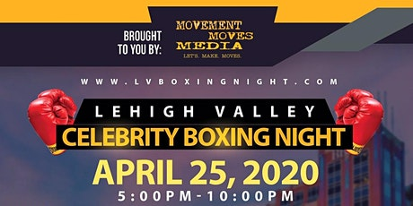 Lehigh Valley Celebrity Boxing Night for Charity tickets